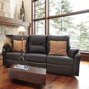 Beatrice Leather Reclining Sofa