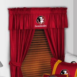 NCAA 88 Florida State Seminoles Curtain Valance by Sports Coverage Inc.