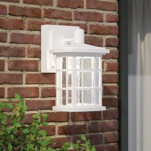 Cayman Outdoor Wall Lantern by Sol 72 Outdoor