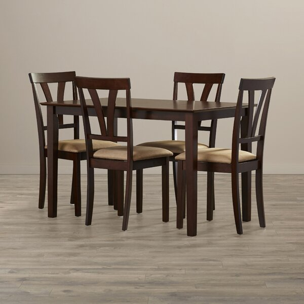 Donald 5 Piece Dining Set by Andover Mills Andover Mills