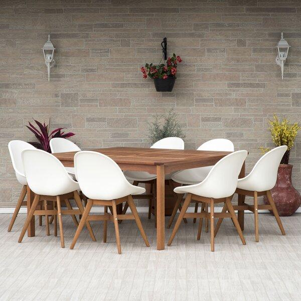 Cruce 9 Piece Dining Set by Corrigan Studio