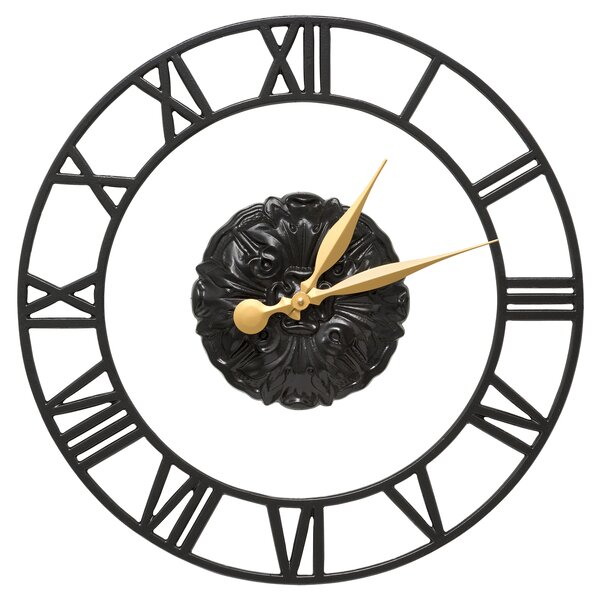 21 Cambridge Floating Ring Indoor/Outdoor Wall Clock by Whitehall Products