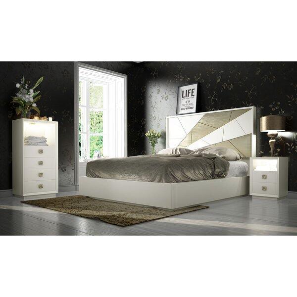 Helotes King Standard 4 Piece Bedroom Set by Orren Ellis