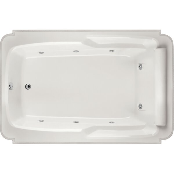 Designer Atlandia 74 x 48 Soaking Bathtub by Hydro Systems