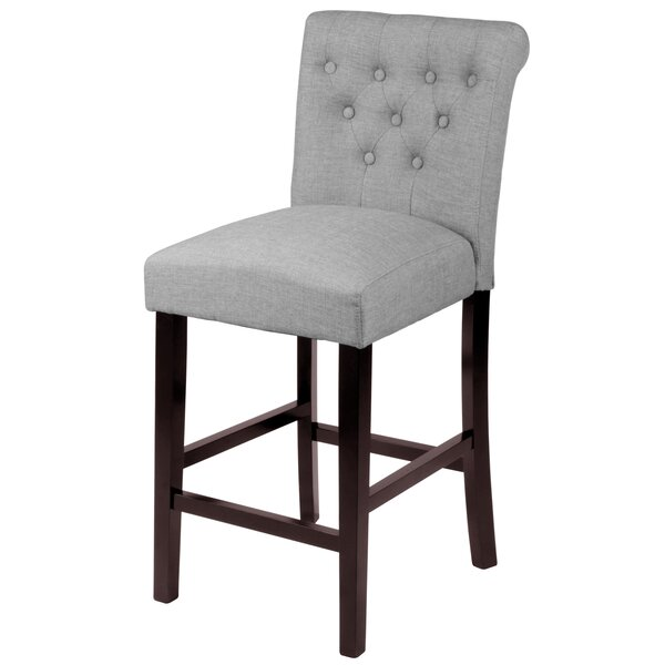 Mapletown 26 Bar Stool (Set of 2) by Three Posts
