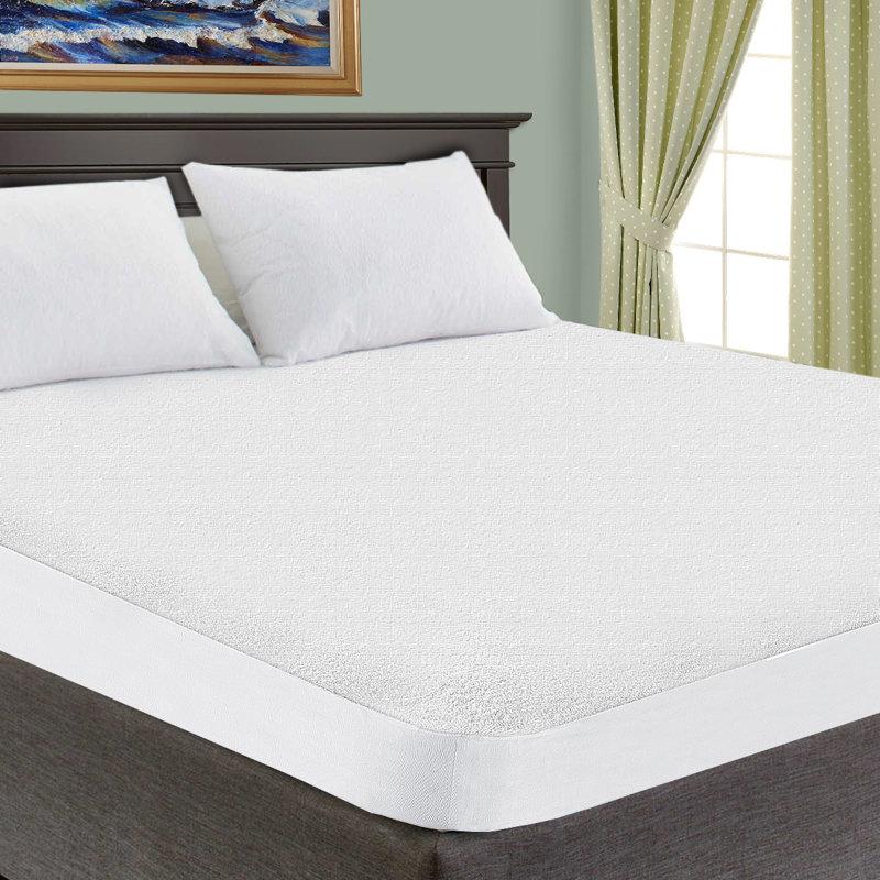 Alwyn Home Premium Hypoallergenic Waterproof Mattress Protector ...