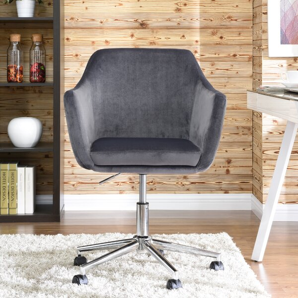 Noell Upholstered Office Chair by Beachcrest Home