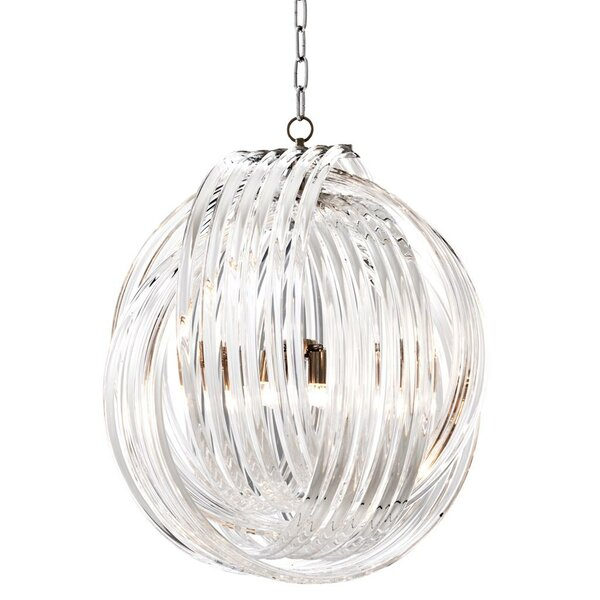 Marco Polo 4 - Light Candle Style Globe Chandelier By Eichholtz
