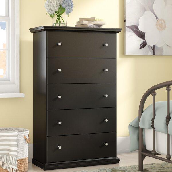 Petersfield 5 Drawer Standard Dresser/Chest by Three Posts