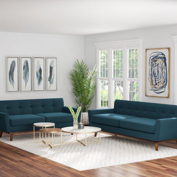 Saginaw 2 Piece Living Room Set by Corrigan Studio Corrigan Studio
