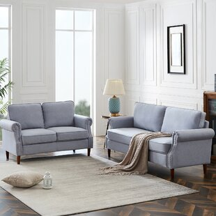 Adelys 2 Piece Standard Living Room Set by Red Barrel Studio®