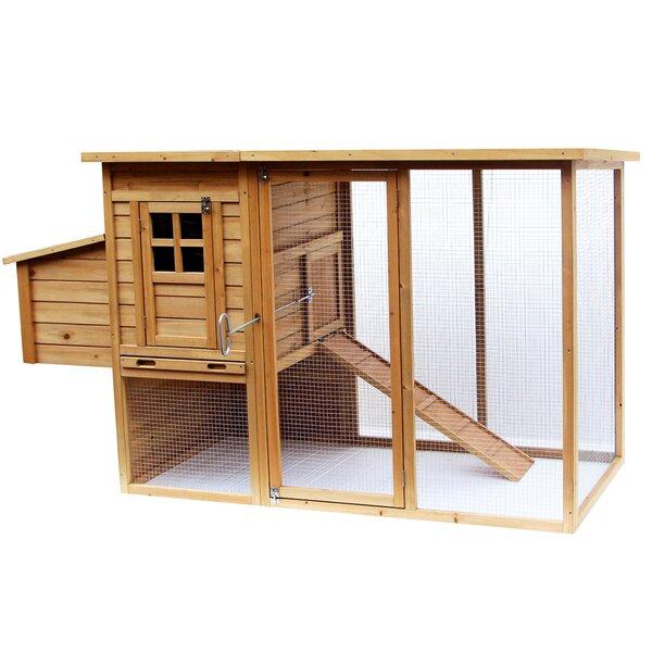 Wooden Animal Hutch by Lovupet