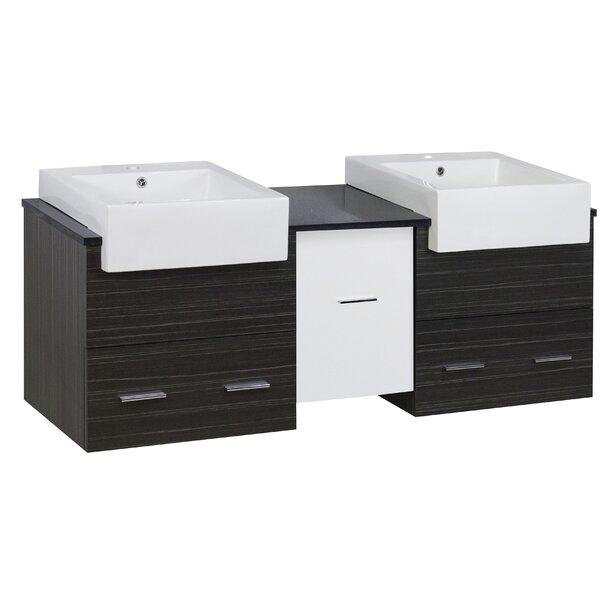 Basden 60 Double Bathroom Vanity Set by Orren Ellis