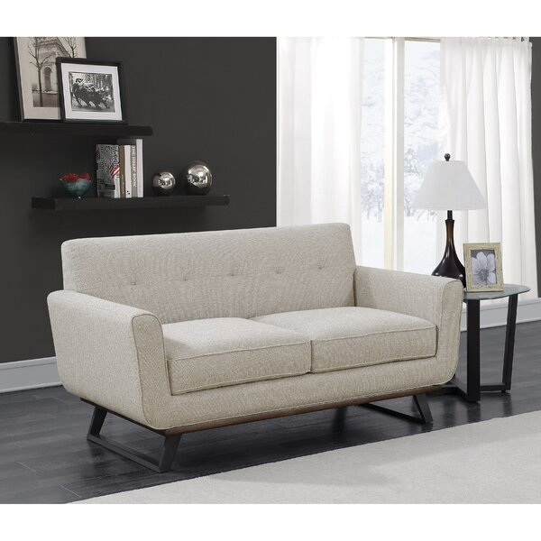 Shop Fashion Aarav Loveseat by George Oliver by George Oliver
