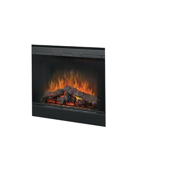 39 Glass Door for Built-In Electric Firebox by Dim