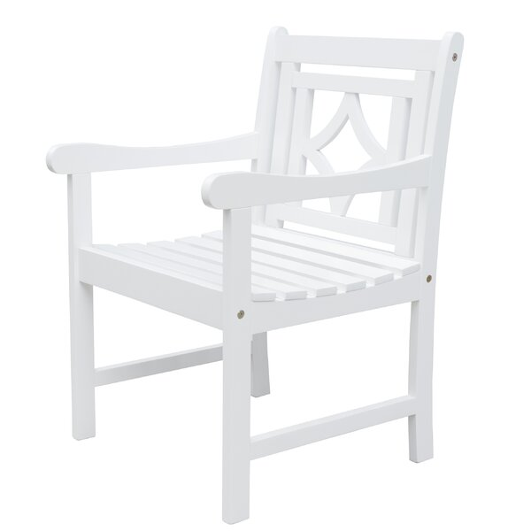Amabel Diamond Patio Dining Chair by Beachcrest Home Beachcrest Home