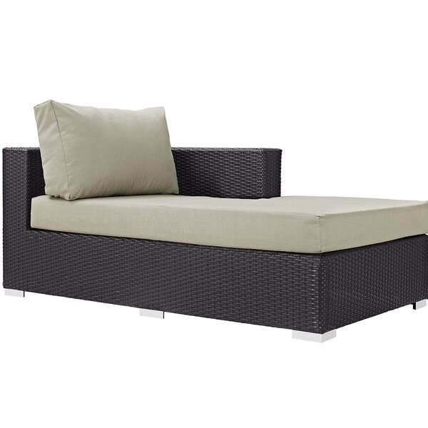 Brentwood Reclining Chaise Lounge with Cushion