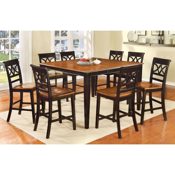 Odis 9 Piece Drop Leaf Dining Set by Canora Grey