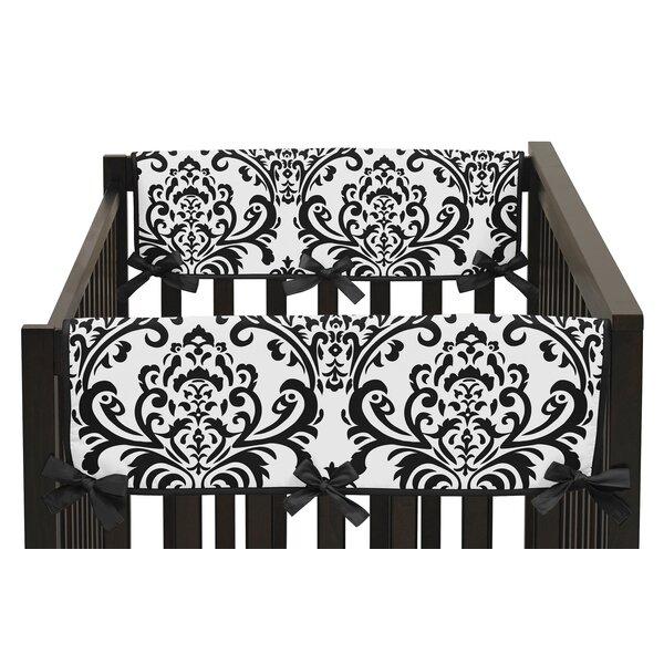 Isabella Damask Print Side Crib Rail Guard Cover (Set of 2) by Sweet Jojo Designs