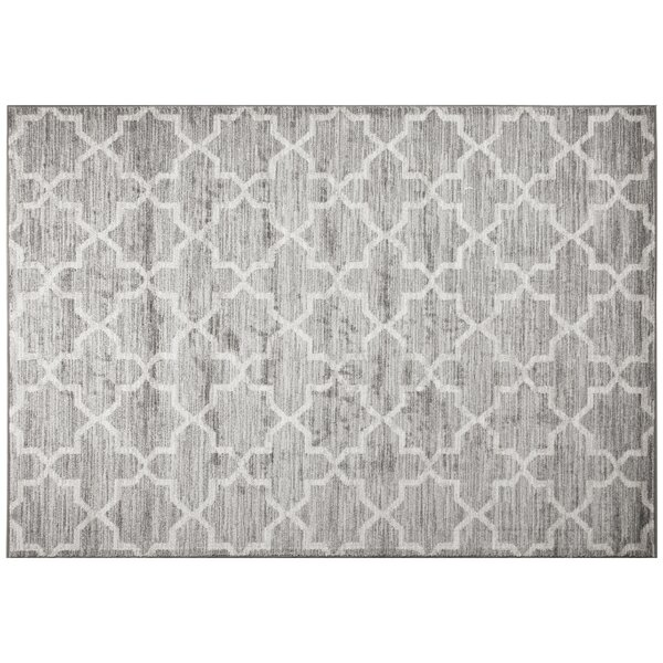 Monastery Gray Area Rug by Ren-Wil