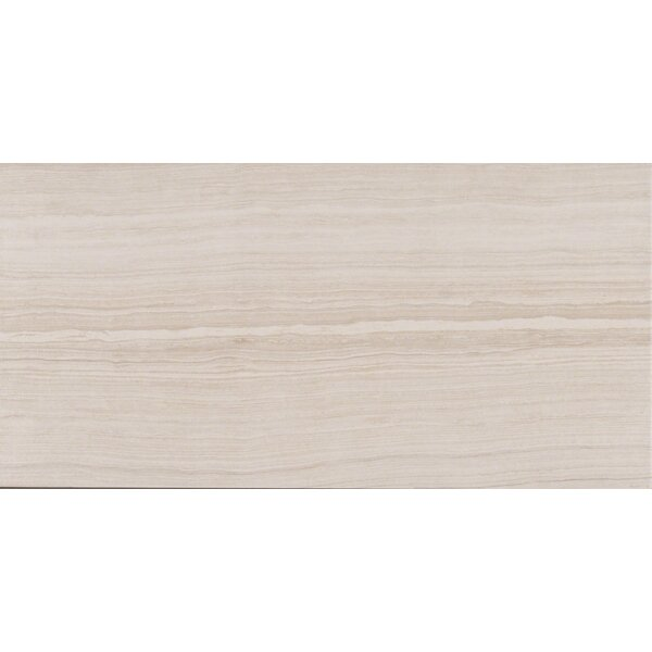 Eramosa 12 x 24 Porcelain Wood Look/Field Tile in White by MSI