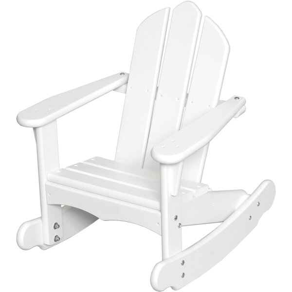 Bailey Youth Wood Rocking Adirondack Chair by Little Colorado