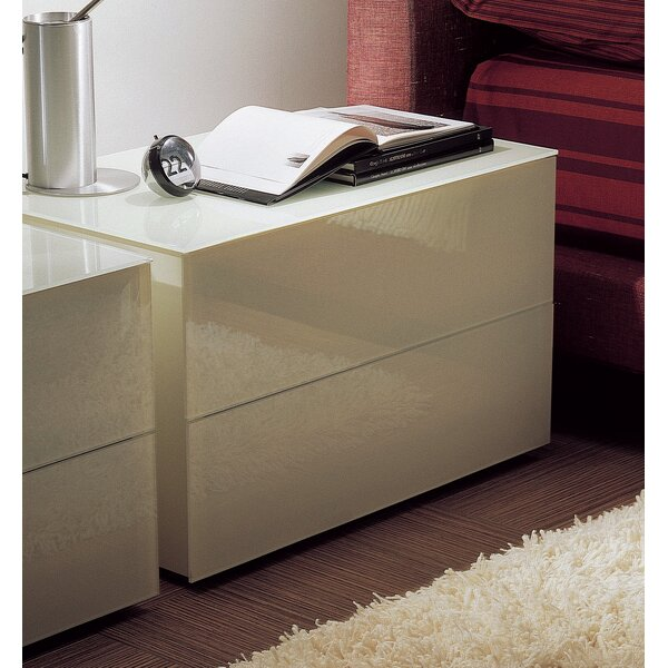Enea 2 Drawer Dresser by Bontempi Casa