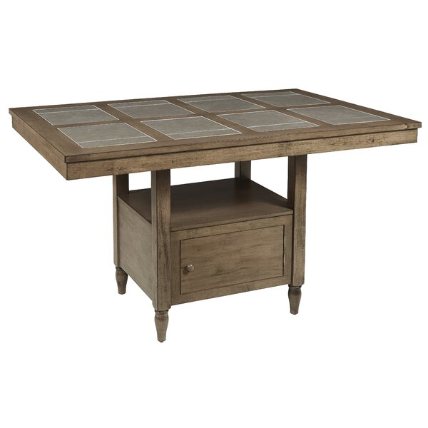 Carley Counter Pub Table by Ophelia & Co.