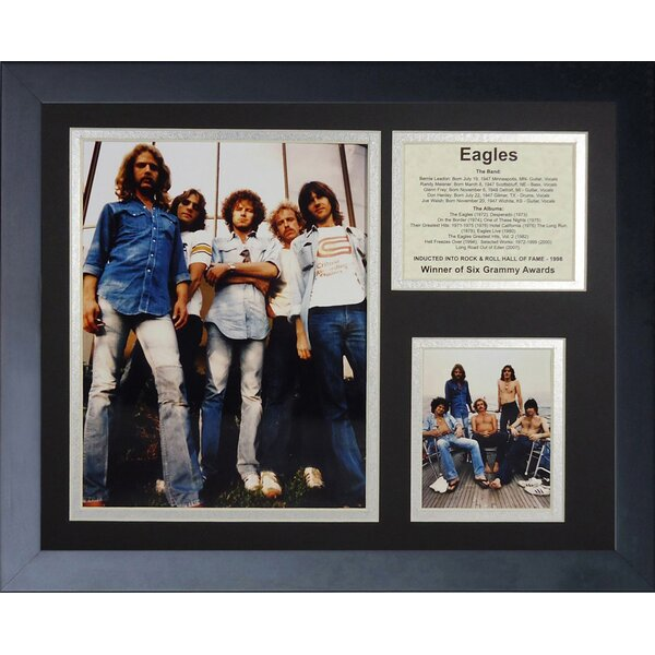 Eagles Framed Photographic Print by Legends Never Die