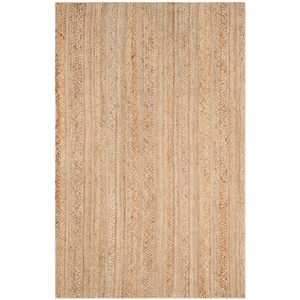 Fithian Hand-Woven Natural Area Rug by August Grove
