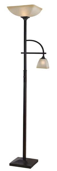 Anding Mother and Son 70 Torchiere Floor Lamp by Millwood Pines
