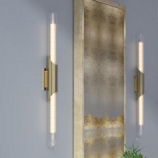 Low priced Ballweg 2-Light LED Flush Mount By Wade Logan