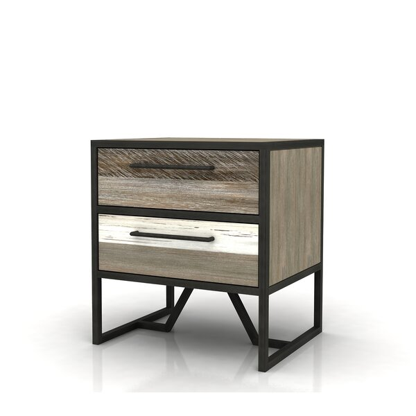 Braunste Havana 2 Drawer Nightstand by Foundry Select