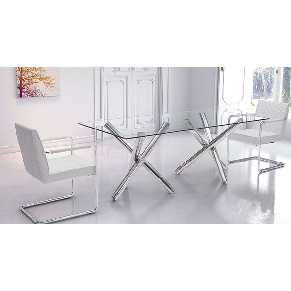 Cutright Dining Table by Orren Ellis