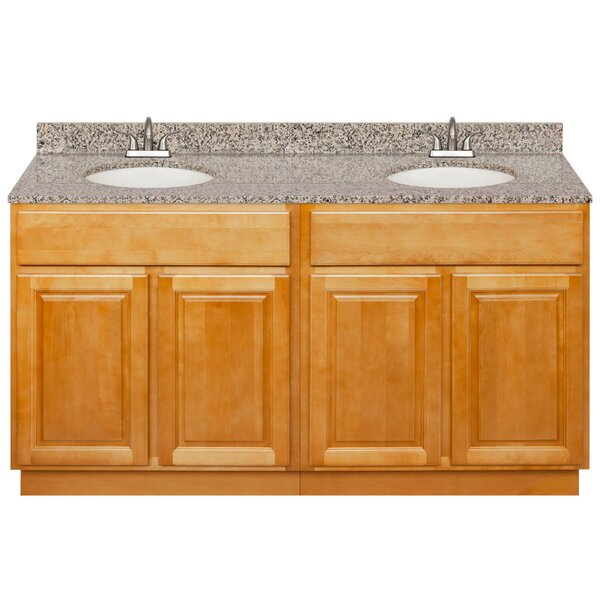 Leyt 60 Double Bathroom Vanity Set by Charlton Home