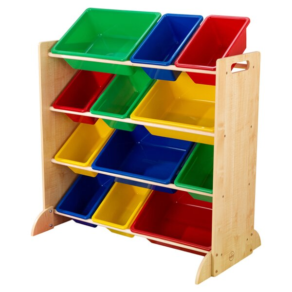 Sort It and Store It 4 Compartment Cubby by KidKra