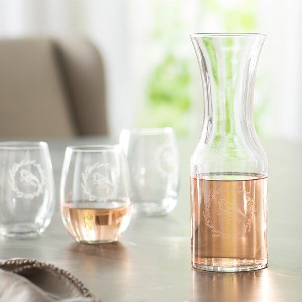 Arquette 33.88 Oz. Carafe by Ophelia & Co.