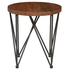Deva Round End Table by Ivy Bronx