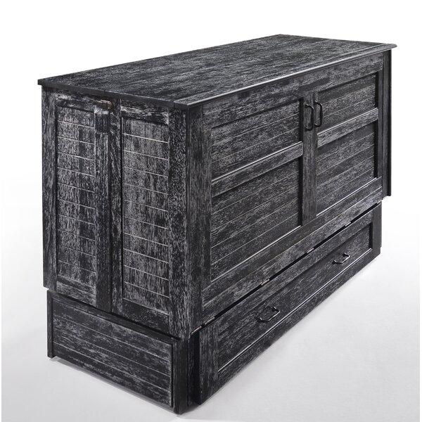 Anush Storage Murphy Bed with Mattress by Latitude Run