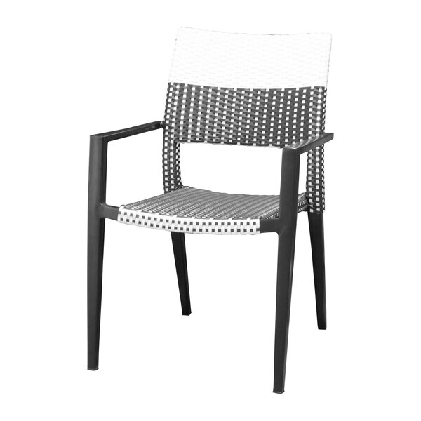 Chloe Stacking Patio Dining Chair by Source Contract