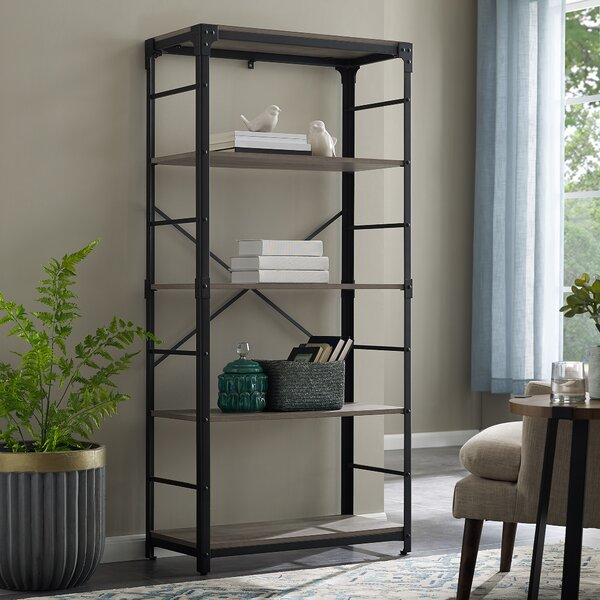 Cecelia Iron Standard Bookcase by Trent Austin Design