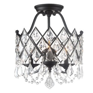 Find for Ravina 3-Light Semi Flush Mount By Designers Fountain