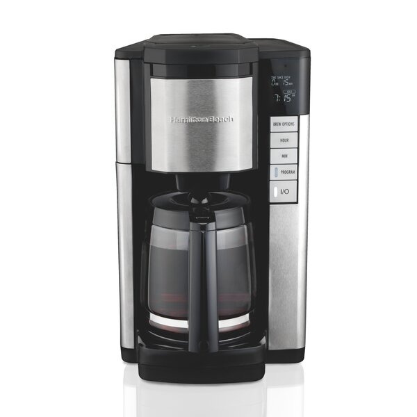 12-Cup Programmble Easy Access Plus Coffee Maker by Hamilton Beach