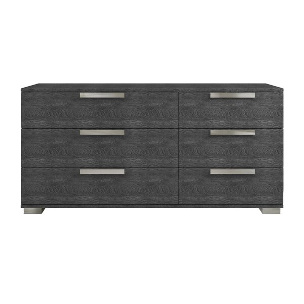 Archbold 6 Drawer Double Dresser by Ebern Designs