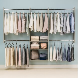 Deluxe Starter 96W Closet System
