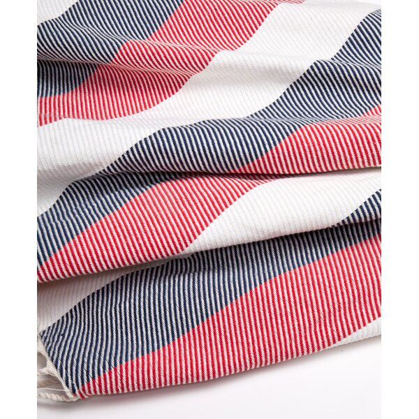 Buldano Nautical Turkish Cotton Beach Towel by Buldano