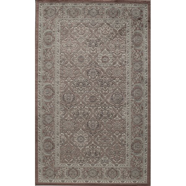 Sheldon Rust Area Rug by Threadbind