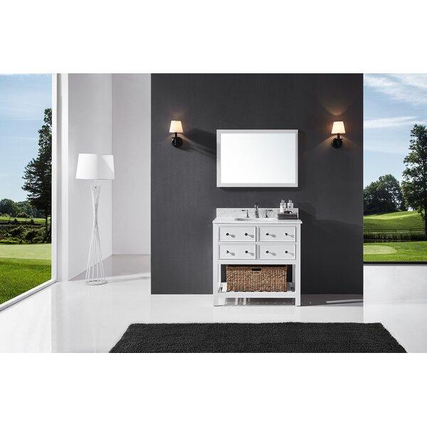 Truby 36 Single Bathroom Vanity Set with Mirror