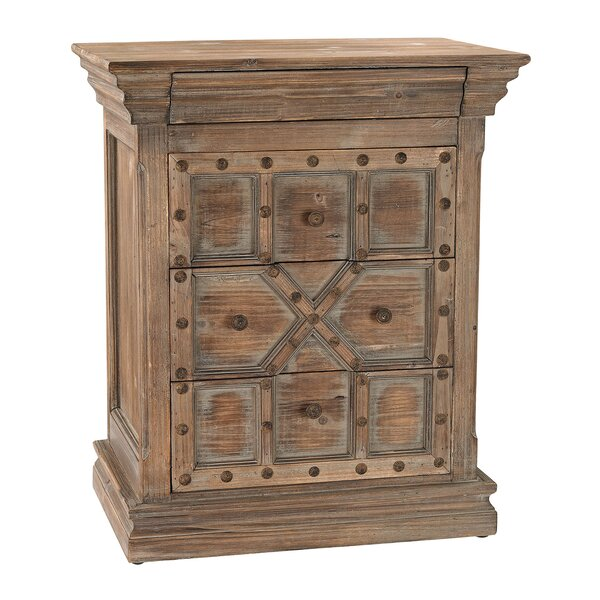 Lennon 4 Drawer Accent chest by World Menagerie