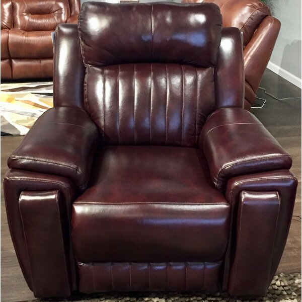 Screen Wall Hugger Leather Recliner by Southern Motion Southern Motion